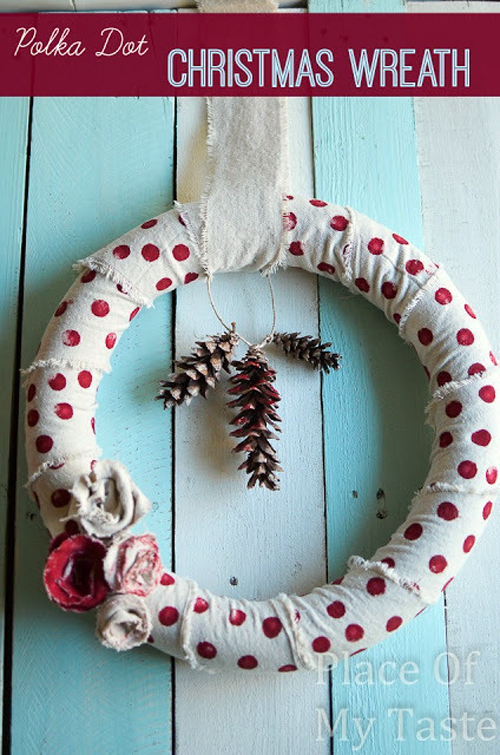 ghirlanda-a-pois---Polka-Dot-Christmas-Wreath