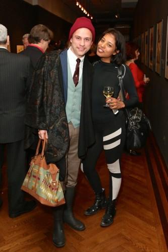 Drew Harper, Mima Dawn==.Dali: The Golden Years==.The National Arts Club, NYC==.February 04, 2015==.©Patrick McMullan==.photo - J Grassi/PatrickMcMullan.com==.==