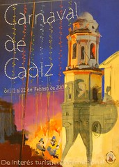 Cartel Carnaval Cadiz 2015
