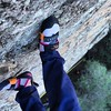 My baby took me dancing for V-day...and let me lead. First lead climb achievement unlocked.  #viewfromthetop #scarpa #patagonia #forceX #dancingshoes #girlswhoclimb #rockclimbing #malibucreek #toddlersterrace #climbing #romantic #losangeles:kiss::love_let