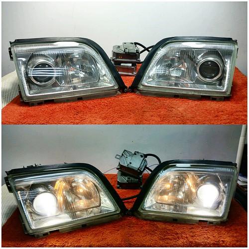 After market r129 headlights mercedes benz forum for Mercedes benz aftermarket headlights