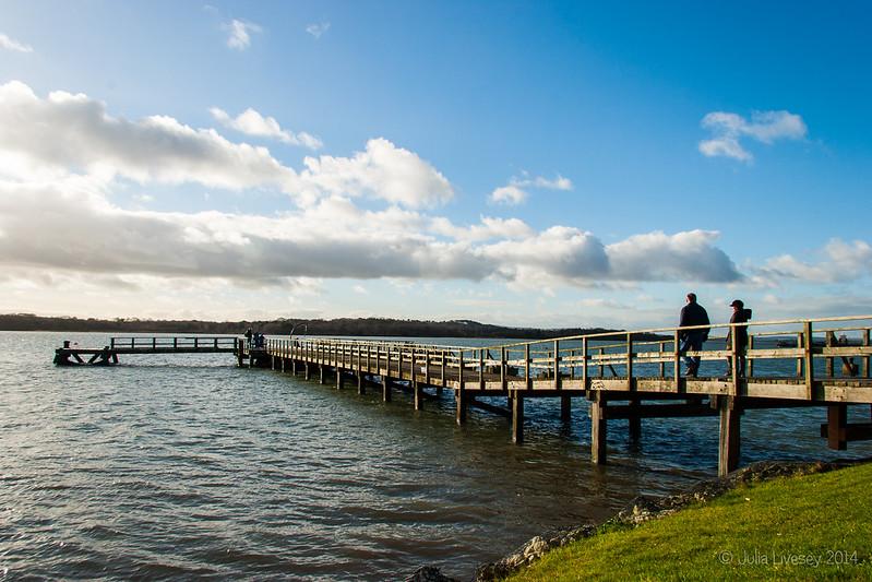 A stroll down the pier