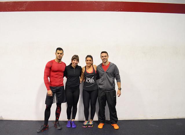 wod en CrossFit Zaragoza coaches Alex, Marta y Álvaro