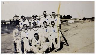 Auckland Customs Office Cricket Team (c1925)