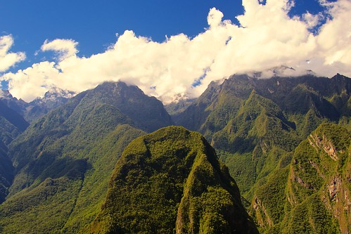 mountains peru inca clouds peaks machupicchu 2014 archeologicalsite mayjune 5photosaday pathwaystrails indianmiddleandsamerican