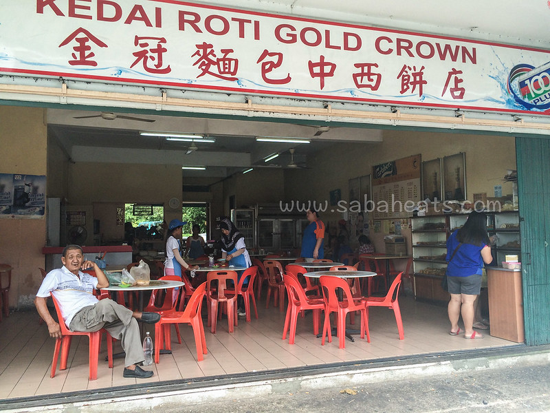Kedai roti gold crown Sandakan