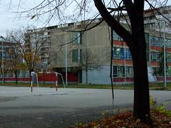Schoolyard, Novi Beograd