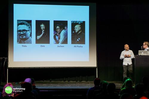 Nach hinten und nach vorn schauen: Webmontag Frankfurt 2014/2015 – Jens Dworzak