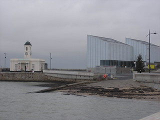 First view of the Turner Contemporary, Margate.
