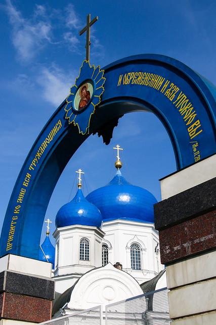 Bogolyubovo convent, Vladimir Oblast, Russia バガリュープスカヤ修道院
