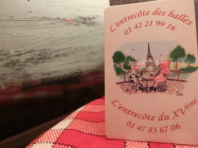 用中文遊巴黎-L'Entrecôte des Halles-法式 (26)