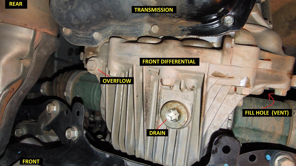 14-\'18) How To: Front and Rear Differential Oil Change - 2014 FXT ...