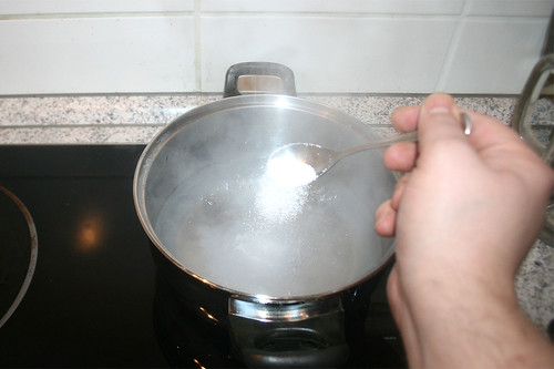 19 - Wasser salzen / Salt water