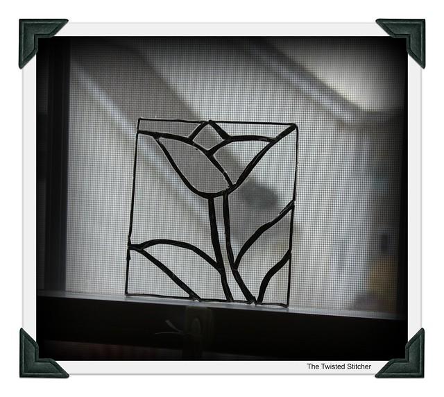 Ian's Clear Glass Suncatcher