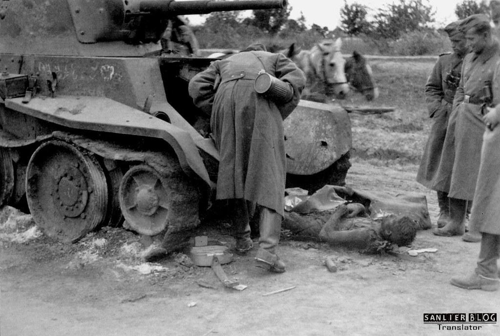 坦克战:活活烧死10