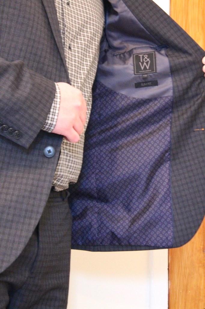 Matalan men's suit