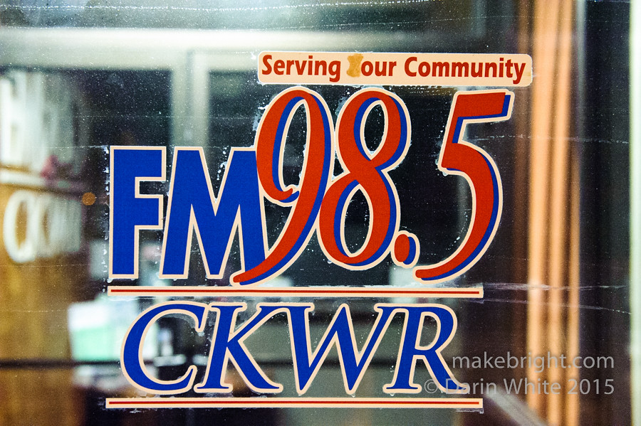 CKWR interview for FLASH 026