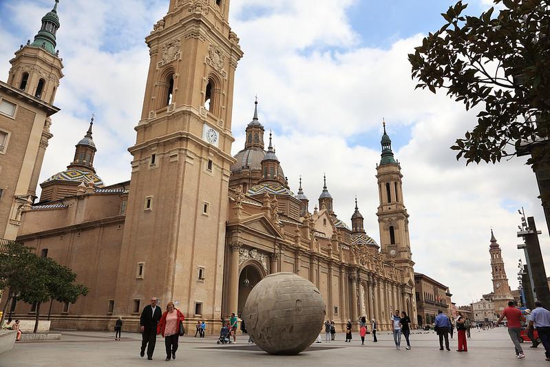 Basilica and globe