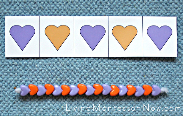 Heart Patterning Layout