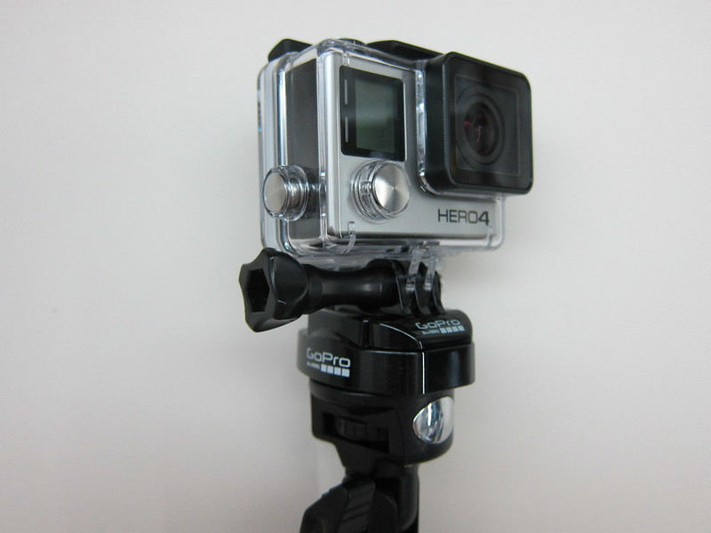 GoPro Tripod Mounts - Quick Release Tripod Mount On Selfie Monopod
