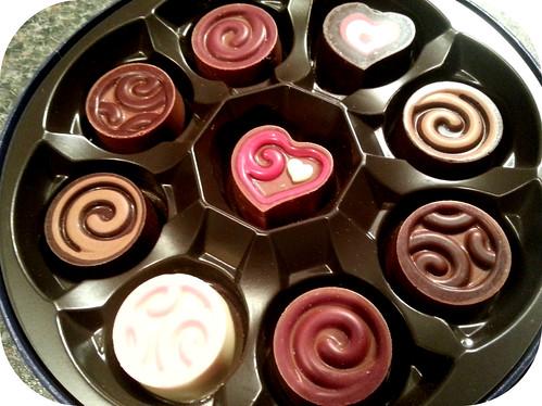 Godiva Fondant Chocolates