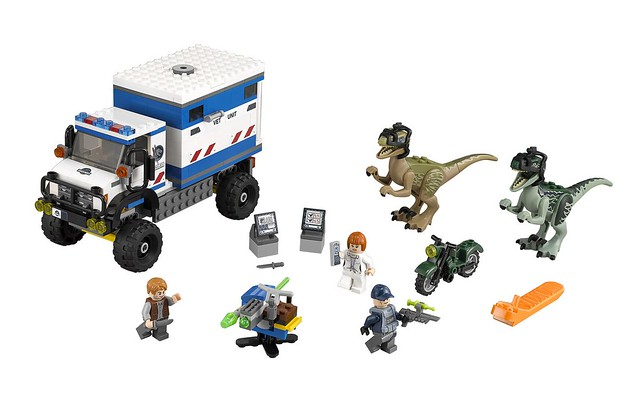 LEGO Jurassic World 75917 - Raptor Rampage