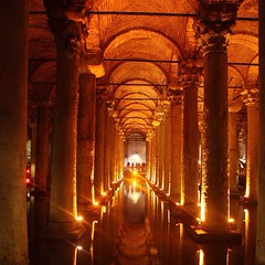 Mysterious #Basilica #Cistern in #Istanbul #nofilter