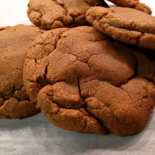 One last batch of cookies today! Soft cookie butter cookies. #baking #cookies #sweettooth