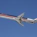 N556AA American MD-82 leaving KCLE by GeorgeM757