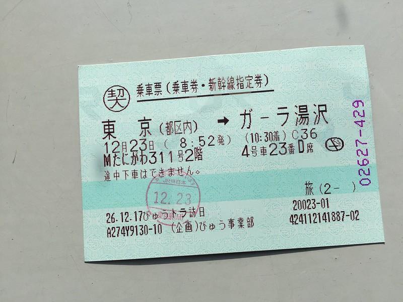 Gala Yuzawa Ski 1