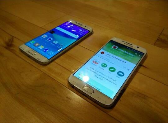 Galaxy S6 si Galaxy S6 Edge apar in fotografii