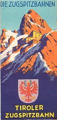 Die Zugspitzbahnen Poster