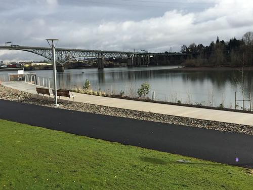 South Waterfront Greenway path-12