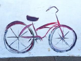 Flat bike