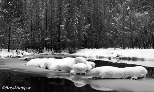 Winter on the Merced, Yosemite NP