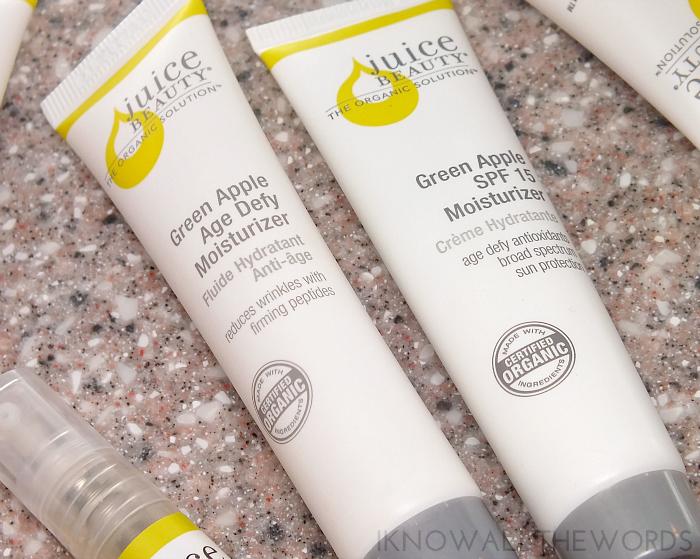 juice beauty age defy solutions kit- green apple age defy moisturizer and green apple spf 15 moisturizer