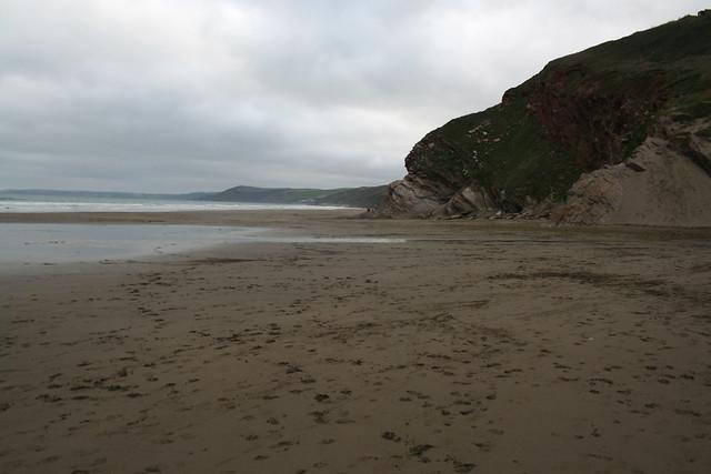 Whitsand Bay at Tregantle Fort