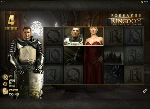 Forsaken Kingdom Eternal Love Bonus Game
