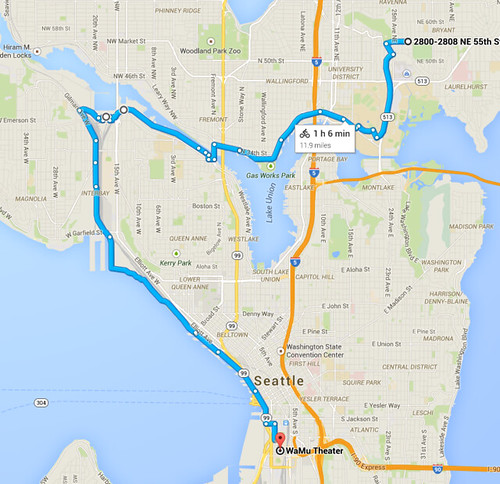 Exploring Seattle by Bike