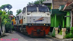 Delivery locomotive