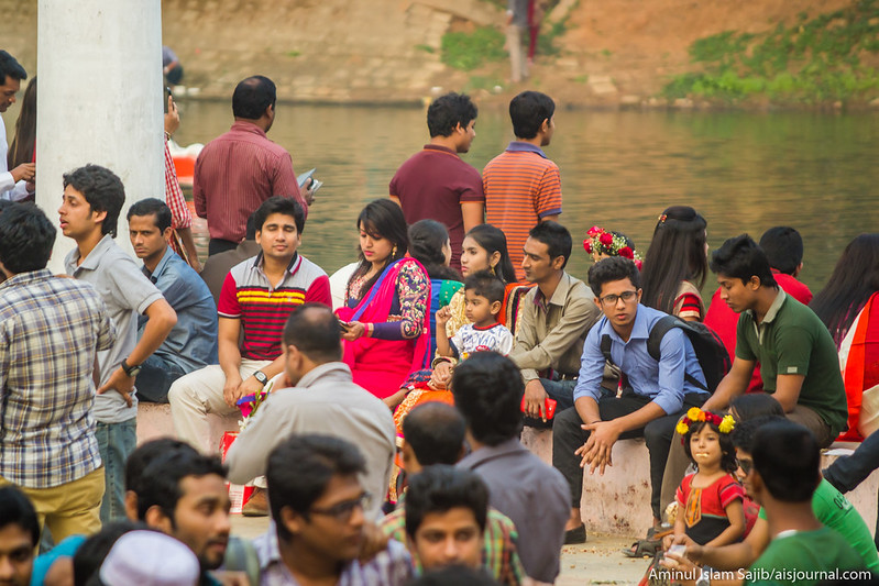 Valentine's Day Celebration in Dhaka 2015