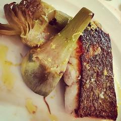 #visioni #cibo #food #ombrina #carfiofo #hostarialunghi