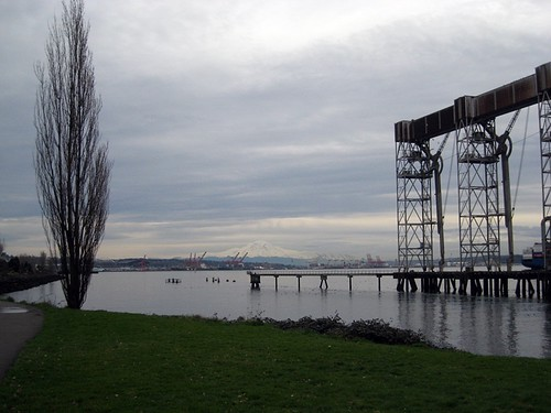 Elliott Bay from Centennial Park