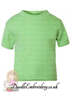 T-shirt - Lime green copy