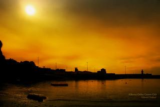 Harbour light.