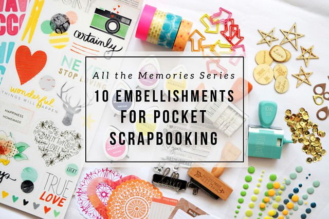 Embellishments for every memory keeper