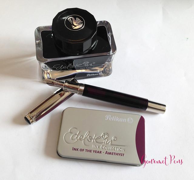 Ink Shot Review Pelikan Edelstein Amethyst @AppelboomLaren @Pelikan_Company (16)