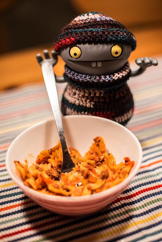 Uglyworld #2597 - Pasta La Vista - (Project On My Tods - Image 62-365)