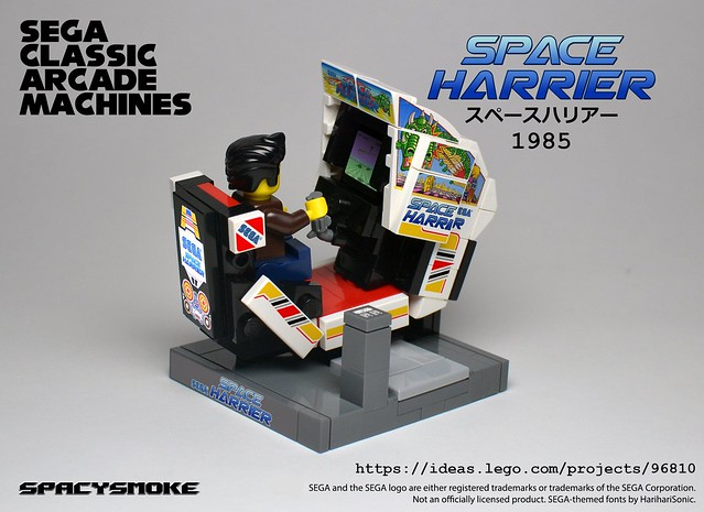 Sega-Arcade-Machines-04 Space Harrier
