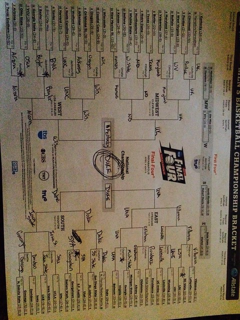 Take Notes - Bracket #1